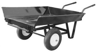 2 Wheel Cart With Tray